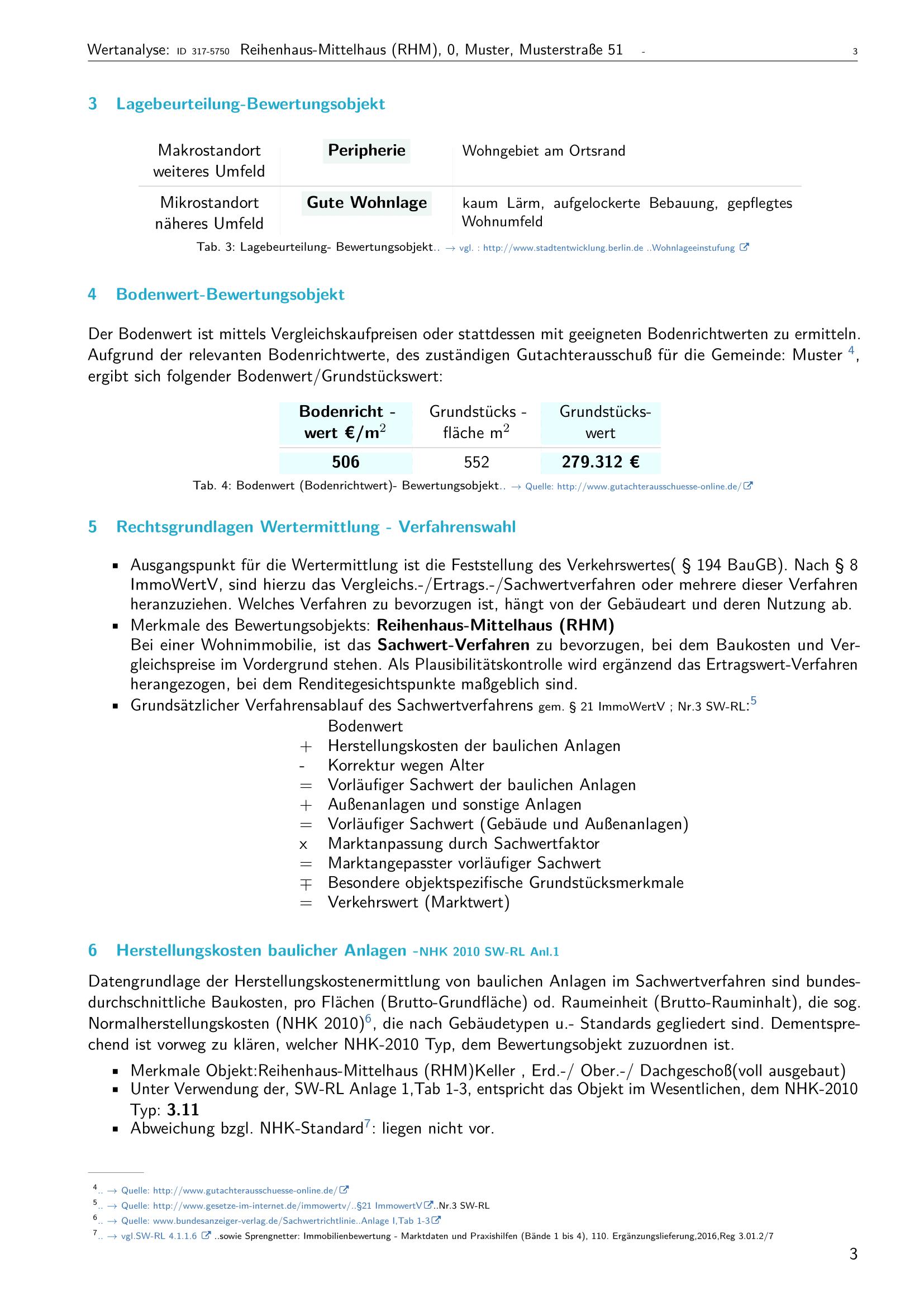 Seite 3 Expertise Immobilienbewertung
