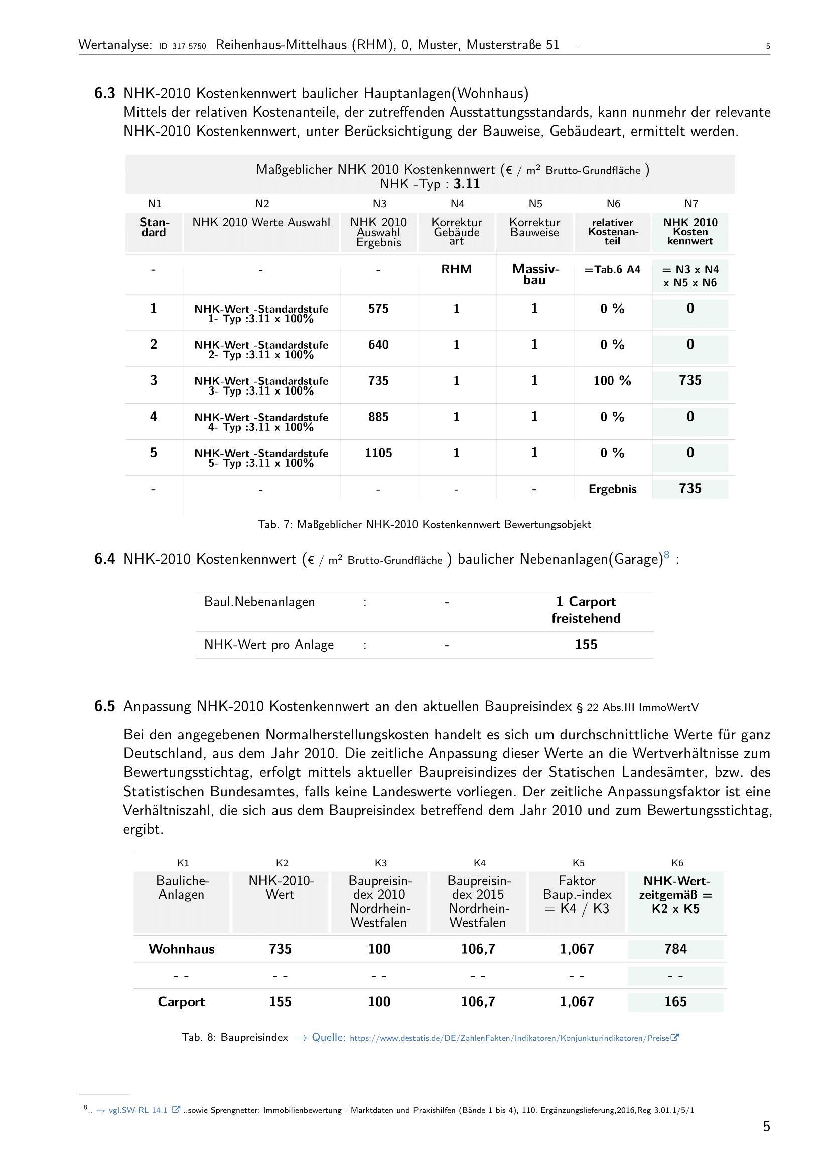 Seite 5 Expertise Immobilienbewertung