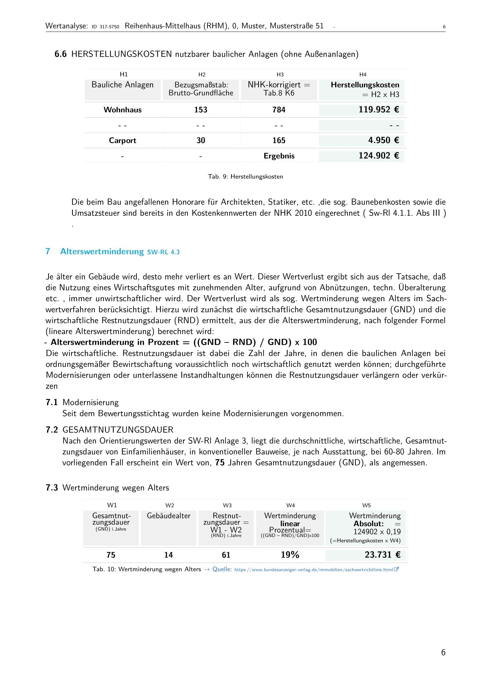 Seite 6 Expertise Immobilienbewertung