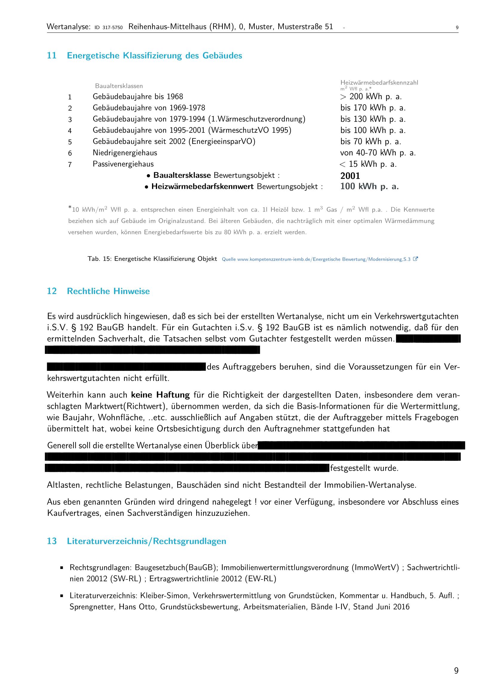 Seite 9 Expertise Immobilienbewertung